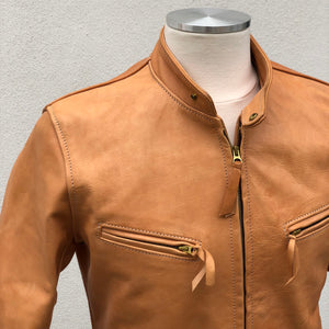 Custom Unfinished Horsehide Leather Jacket Project