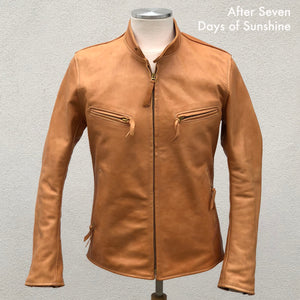 BALANCE PAYMENT: Custom Unfinished Horsehide Leather Jacket Project