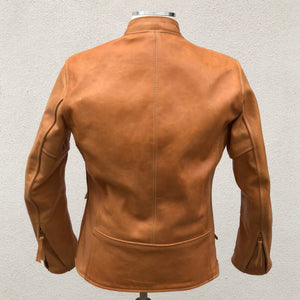 Custom Unfinished Horsehide Leather Jacket Project Deposit