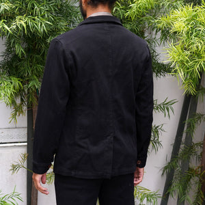 Doyle Jacket Sashiko Jet Black