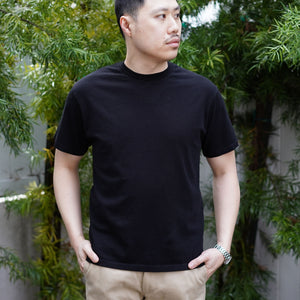 Heavyweight T-Shirt Short Sleeve in Black