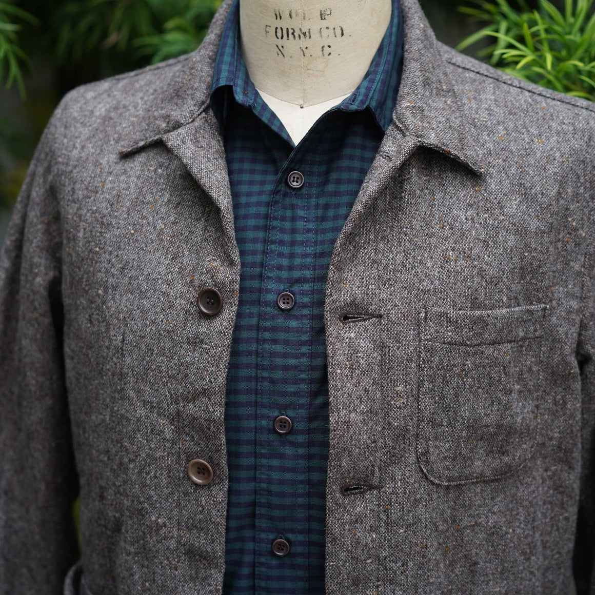 Chainstitch Shirt Thomas Mason Oxford Blackwatch Gingham
