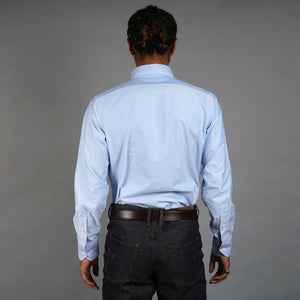 British Blue Oxford Shirt