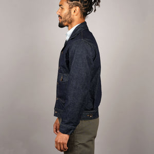 Bomber Jacket 14oz Kaihara Indigo Denim