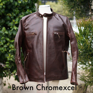 Made to Order Leather Tanker Jacket DEPOSIT