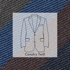 Made To Order Sportcoat Huddersfield Wool Cavalry Twill
