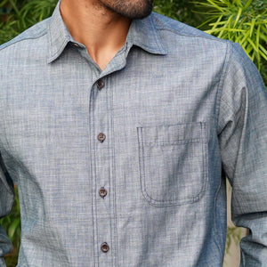 Chainstitch Shirt Sendai Indigo Chambray