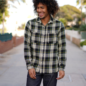 "Chainstitch Shirt Heavyweight ""Akita"" Japanese Flannel"