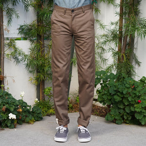 Rivet Chino Cramerton Cotton Twill Coffee