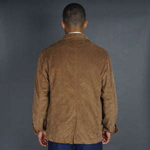 Doyle Jacket Pima Cotton Corduroy Walnut