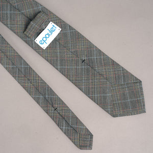 Necktie in Loro Piana Cosa Nostra Glen Check Wool