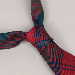 Necktie in Robert Noble Holiday Wool Tartan