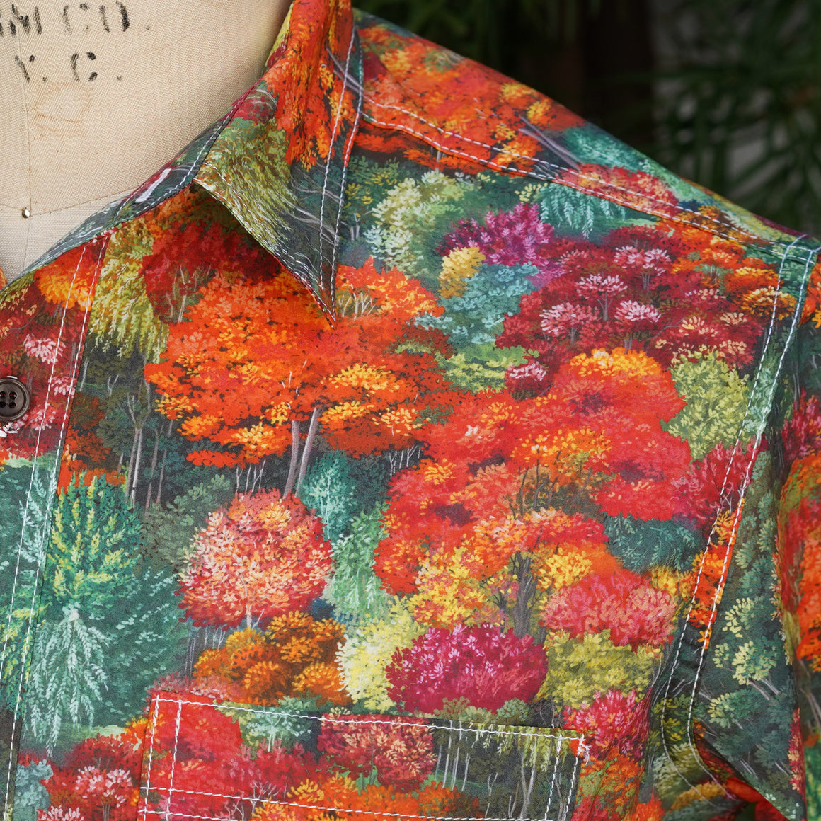 Chainstitch Shirt Liberty of London Fantasy Forest Print