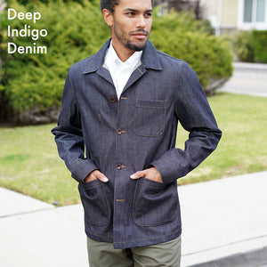 Made to Order Doyle Jacket in Japanese Raw Denim