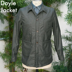 Made to Order Doyle & Sinclair Jacket in Fall Tweeds & Flannels