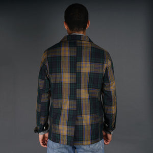 Doyle Jacket 8oz Cotton-Silk Madras