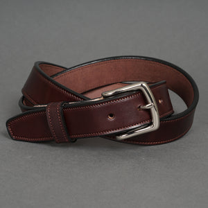 Dress Belt Chocolate Steerhide