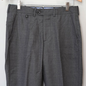 Sample Sale: Driggs Trouser in REDA Storm Grey Hopsack, Size 29