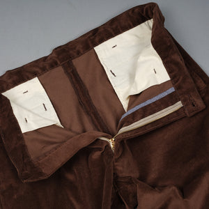 Pima Cotton Chocolate Corduroy EZ-Pant