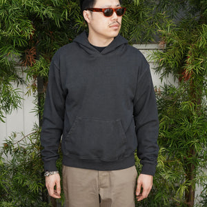 Fairfax Hooded Sweatshirt in Vintage Black