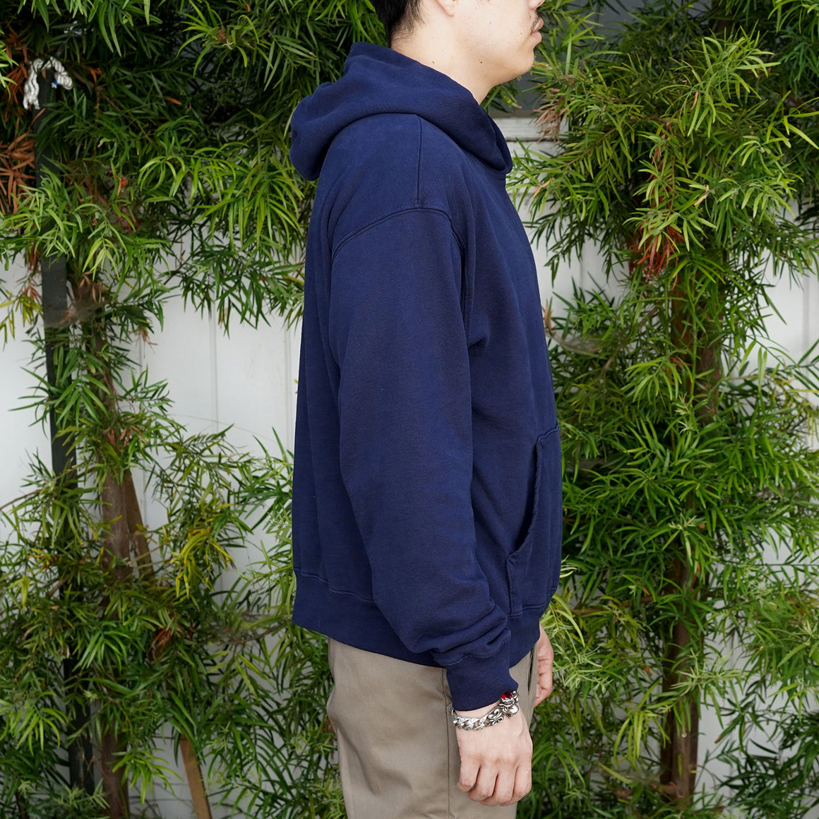 Fairfax Hooded Sweatshirt in Indigo