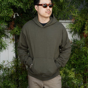 Fairfax Hooded Sweatshirt in Olive Drab