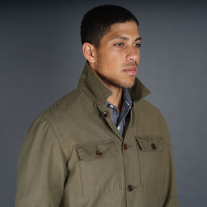 Epaulet x Jeremy Dean Fatigue Jacket in Repro Cotton Sateen