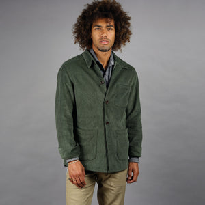 Doyle Jacket Pima Cotton Corduroy Forest