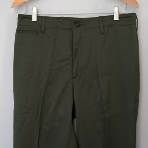 Sample Sale: Garand Trouser in Olive British Cotton, Size 31