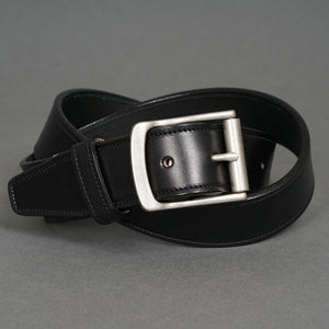 Gaucho Belt Black Steerhide
