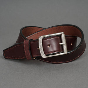 Gaucho Belt Chocolate Steerhide