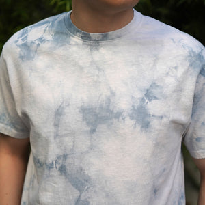 Extra Heavyweight T-Shirt Short Sleeve in Ghost Crystal Wash