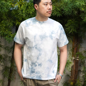 Heavyweight T-Shirt Short Sleeve in Ghost Crystal Wash