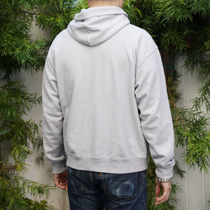Fairfax Hooded Sweatshirt in Ghost Grey