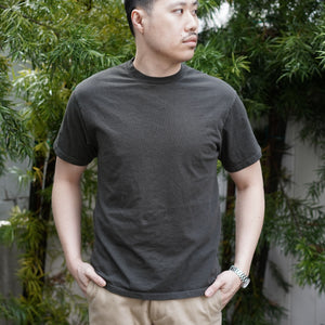Heavyweight T-Shirt Short Sleeve in Gunmetal