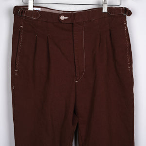 Sample Sale: Greenpoint Trouser Dyed Corduroy Size 32
