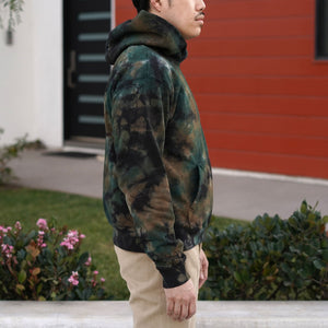 Fairfax Hooded Sweatshirt in Tiedye Camo