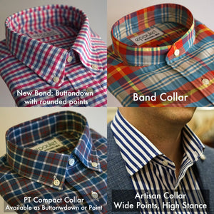 Custom Shirting Blue Solids