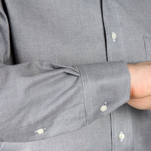 4-season Albini Brushed Twill Shirt