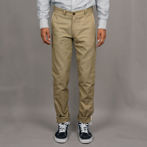 Rivet Chino 10oz Duck Canvas Infantry Khaki