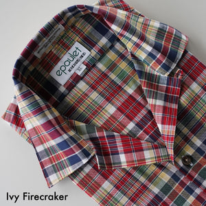 Camp Collar Made To Order Bold Stripe Shirting