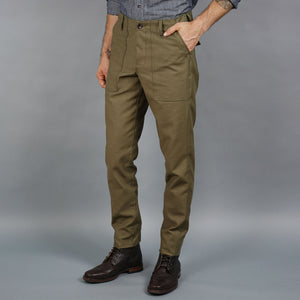 Jungle Pant Japanese Olive Cotton Sateen