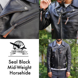 Made to Order Leather Double Rider Jacket