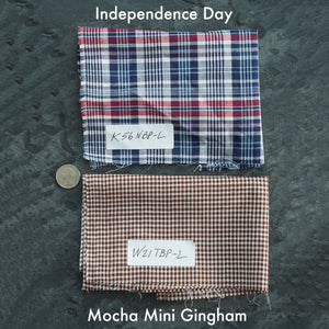 Camp Collar Made To Order Madras Exclusive Shirting