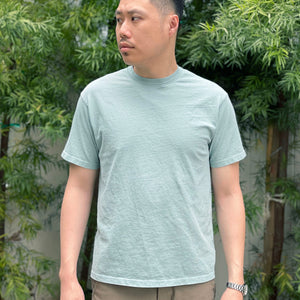 Heavyweight T-Shirt in Mint Enzyme Wash