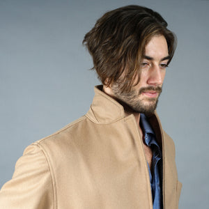 Sinclair Sportcoat in Camel British Melton Wool