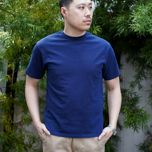 Heavyweight T-Shirt Short Sleeve in Indigo