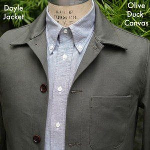 Made to Order Doyle & Sinclair Jacket in Canvas, Twill, and Denim