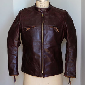 Sample Sale: Aero Cafe Racer in Oxblood Chromexcel Size 42