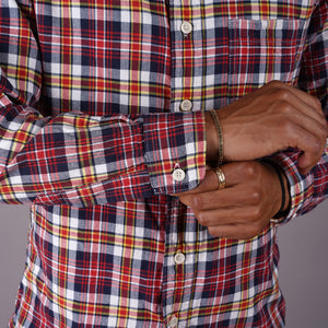 Chainstitch Shirt Planters Punch Madras